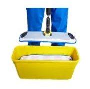 microfiber mop charging bucket