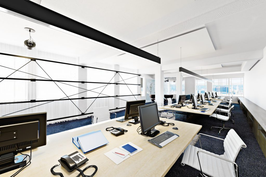 We clean all types of offices and buildings