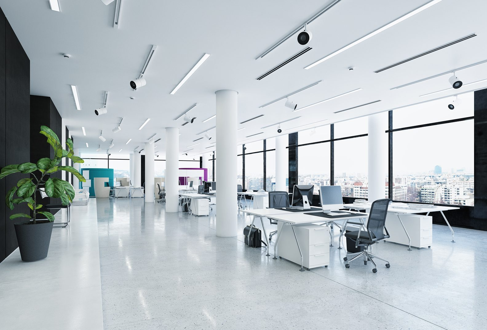 Commercial cleaning services for a clean and healthy workplace